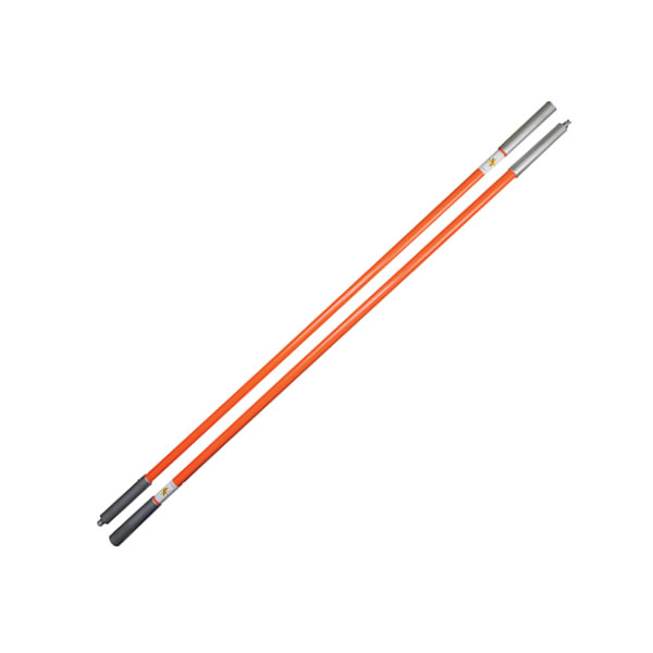 Fiberglass Poles with Threaded End